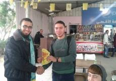 مسابقة ميدانية في جامعة الأقصى فرع الجنوب