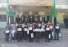 احتفال تكريم المتفوقين في مدرسة الامام الشافعي أ