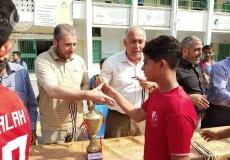 المشروع الرياضي بمدرسة بيت لاهيا الإعدادية شمال غزة