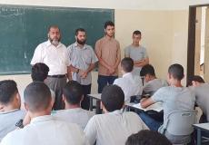 حراسة الفضيلة 3 في مدرسة أبو عبيدة الجراح الثانوية شمال غزة