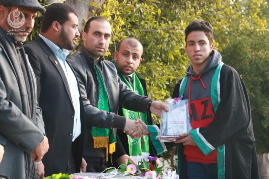 مشاركة قيادة حركة حماس في تكريم المتفوقين