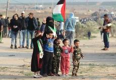 عدسة إعلام الكتلة بغرب غزة توثق مشاركة الجماهير في جمعة
