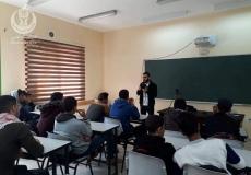 دورة في اساسيات التصوير لطلاب مدرسة جمال عبدالناصر
