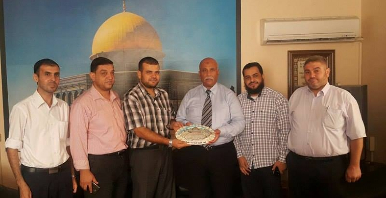 جانب من زيارة الكتلة الإسلامية لوكيل وزارة الشؤون الإجتماعية