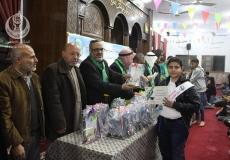 الكتلة الإسلامية في مسجد الشهيد -البريج تنظم حفل تكريم للطلبة المتفوقين.