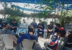قامت الكتلة الاسلامية جنوب غزة  في مدرسة الامام الشافعي ( ب ) وكالة بعقد لقاء للهيئة الداخلية والعاملين في المدرسة