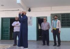 الكتلة الإسلامية بمدرسة أسعد الصفطاوي ب في شرق غزة تنفذ درساً دعوياً