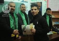 الكتلة الاسلامية في مدرسة فتحي البلعاوي