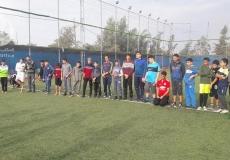 الكتلة الاسلامية في البريج تنظم مباراة كرة قدم