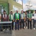 قيادة الكتلة الإسلامية تشارك في استقبال طلاب الثانوية العامة