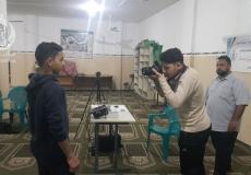 بالصور تنظيم دورة تصوير في منطقة العودة في شمال غزة
