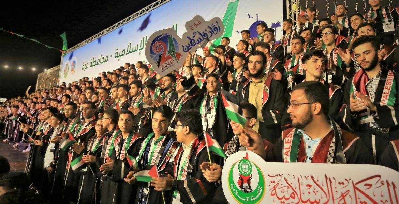 صورة للطلاب أثناء المهرجان
