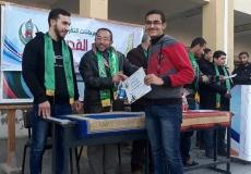 حفل تكريم المتفوقين بمدرسة عدنان العلمى الثانوية غرب غزة