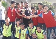 المشروع الرياضي بمدرسة سعد بن أبي وقاص