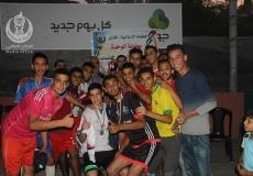 الكتلة الإسلامية بالمغازي تختتم بطولة الوحدة لكرة القدم للشباب الخامسة وتتوج المسجد الشهيد أحمد ياسين لبطولة الكرة القدم.