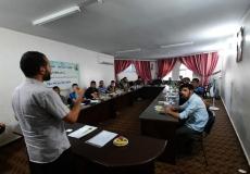 الكتلة الإسلامية بمدارس المحافظة الوسطى تنظم يوم تدريبي  لامراء المدارس الخارجيين