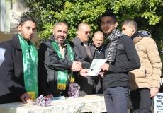 الكتلة الإسلامية بمدرسة فتحي البلعاوي (ب) تكرم الطلاب المتفوقين فى المدرسة