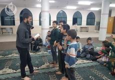 الكتلة الإسلامية في مسجد الشيخ احمد في مخيم البريج تنظن أمسية ترفيهية