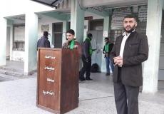الكتلة الاسلامية في المدارس الثانوية بغرب غزة تنظم حملة حراس الفضيلة.