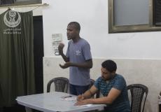 الكتلة في حكرالجامع تنظم أمسية دعوية لطلاب فئة المرحلة الإعدادية