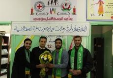 الكتلة الاسلامية بمدرستي خالد العلمي وصرفند تزور مركز الصحة النفسية