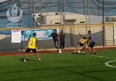 جانب من فعاليات كأس الشباب 4 بالمنطقة الوسطى (النصيرات)