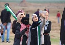 هكذا كان مخيم العودة شرق مدينة غزة أمس الجمعة