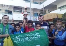 المشروع الرياضي بمدرسة شهداء جباليا  الإعدادية شمال غزة