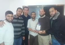 جولة زيارات منوعة لكوادر الكتلة بمدارس غرب غزة