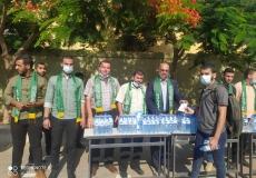 استقبال طلاب الثانوية العامة في محافظة خانيونس في اليوم الأول للختبارات