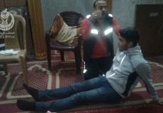 بالصور تنظيم محاضرات في الاسعاف الأولي وكيفية التعامل مع الغاز المسيل لدموع في شمال غزة