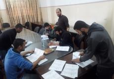 الإستعداد لتوزيع 10000 بروشور عن أدعية الإمتحانات بمدارس غرب غزة