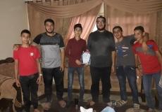 قامت الكتلة الاسلامية في مدرسة النيل بزيارة أحد طلاب الهيئة الداخلية بسبب وعكة صحية
