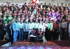 الكتلة الإسلامية بالوسطى تُكرم أكثر من 200 طالب توجيهي متفوق