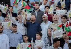 تكريم 150 طالب اعدادي وثانوي في بيت لاهيا