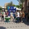 جانب من الاستقبال للطلبة الجدد في جامعة الأزهر