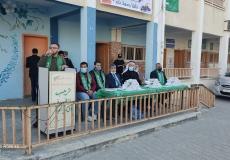 الكتلة برفح تكرم الطلاب المتفوقين في مدرسة أبو يوسف النجار الثانوية ضمن مشروع نخبة وطن