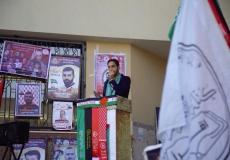 احياء ذكرى يوم الاسير الفلسطينى بجامعة الأقصى