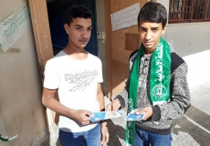 حلمة تنظيم الوقت في المدارس الثانوية بغرب غزة