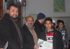 الكتلة الإسلامية في مسجد الشهيد حسن البنا تكرم الطلبة المتفوقين في الفصل الدراسي الأول