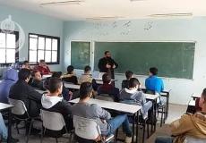 الكتلة الاسلامية في مدرسة شهداء المغازي تنظم سلسلة دروس دعوية