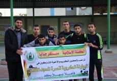 صور الدوري الرياضي نصرة للاقصى في شمال غزة