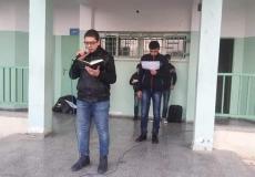 حملة الواجب نحو الله والوطن والآخرين  التي نفذت في مدرسة خالد العلمي بغرب غزة