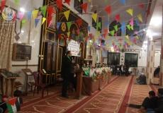 الكتلة الإسلامية في مخيم البريج تختتم احتفالات تكريم المتفوقين
