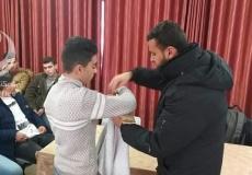 الكتلة الإسلامية في مدارس البريج الثانوية تنظم دورة اسعافات اولية