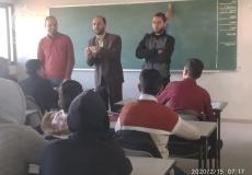 اختتام دورة إتقان سورة الفاتحة في مدرسةجبل المكبر الثانوية شمال غزة
