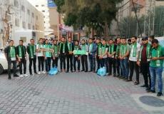 استقبال طلاب جامعة الأقصى