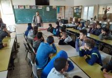 تنظيم محاضرة عن أهمية الوقت بمدرسة صرفند بغرب غزة