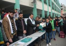 تكريم الطلاب المتفوقين بمدرسة الحرية الإعدادية