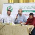 م. محمد فروانة رئيس الكتلة الإسلامية خلال كلمته أثناء اللقاء